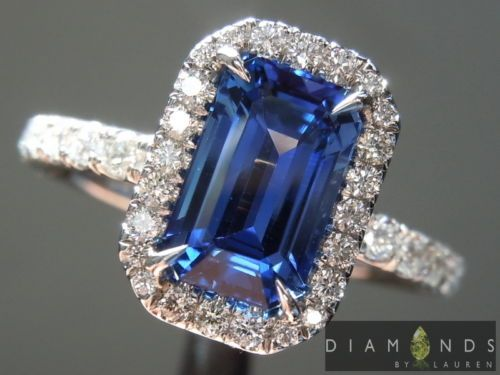 1-97ct-Blue-Emerald-Cut-Sapphire-and-Diamond-Halo-Ring-R5753-Diamonds-by-Lauren