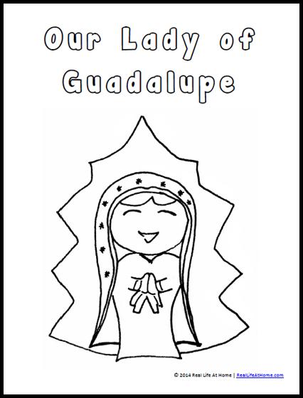 Virgin Mary Guadalupe Janet Barber 2 Jpg 900 1725 Coloring Pages Mary Of Guadalupe Virgin Mary
