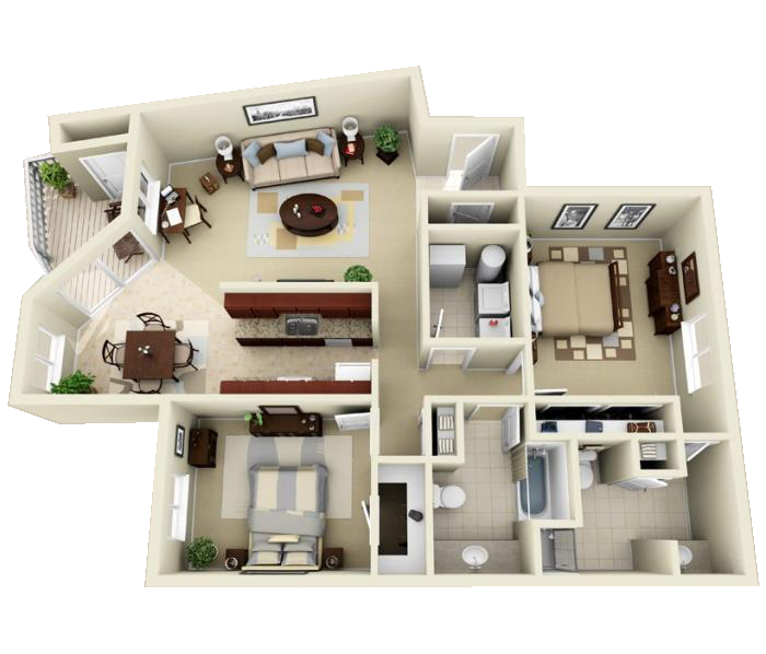 Luxury 1 2 And 3 Bedroom Apartments In Indianapolis In Indianapolis Indiana Apartment Steadfa Apartment Floor Plans Apartment Layout Sims House Plans