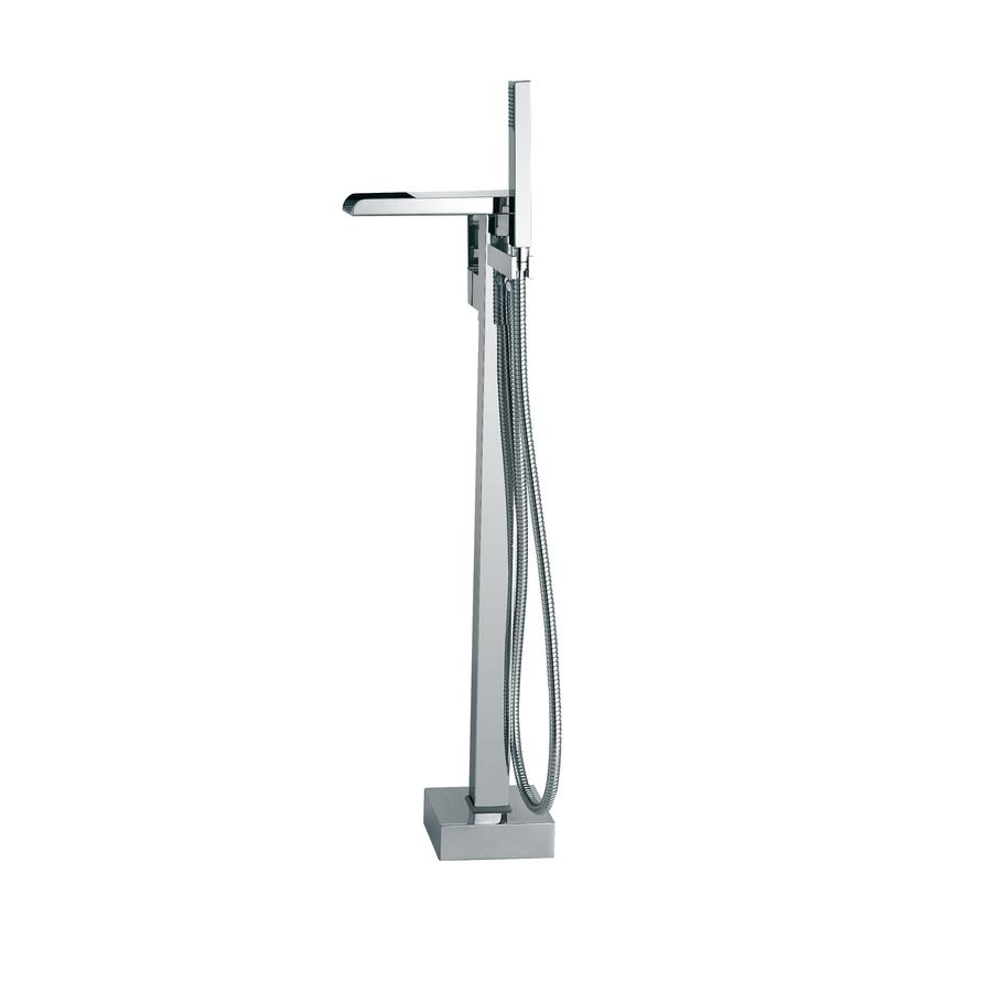 faucet for freestanding bathtub. OVE Decors Infinity Chrome 1 Handle Adjustable Freestanding Bathtub  Faucet