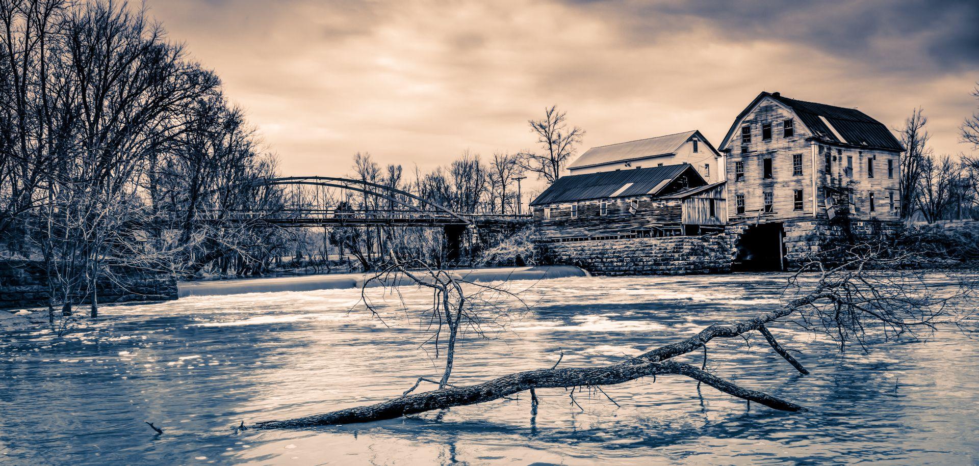 Falls of Rough & Mill, Kentucky