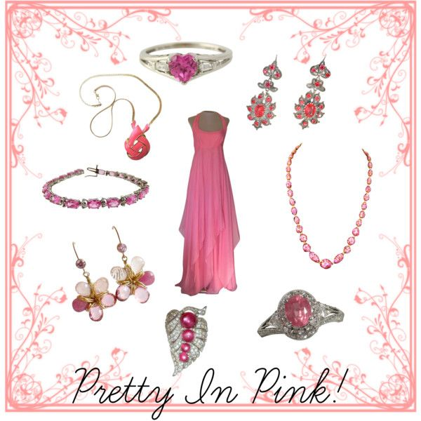 Pretty In Pink! by rubylaneinc on Polyvore