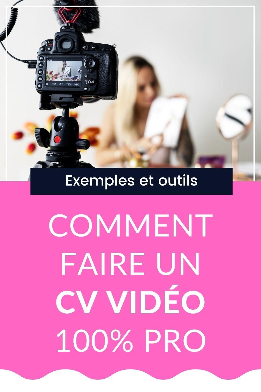 Cv Video Comment Faire Exemples Comment Faire Un Cv Le Cv Exemple Cv