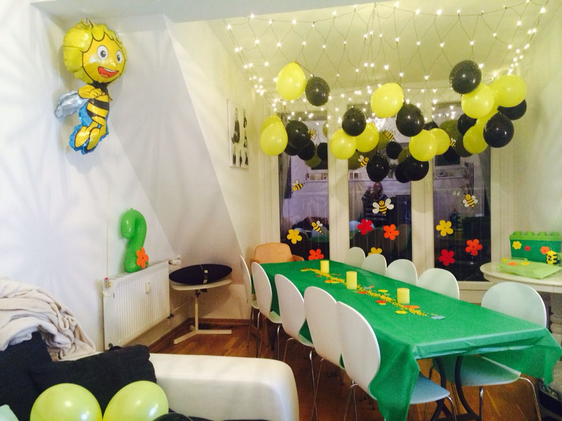 Biene maja Birthday party | Biene Maja Party | Pinterest | Bienen ...
