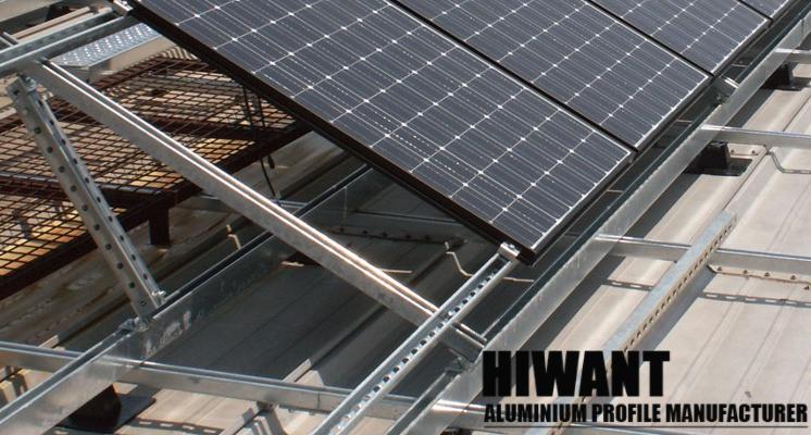 High Quality Customized Different Sizes Solar Alulminium Mounting Rail Roof Solar Panel Solar Solar Panels