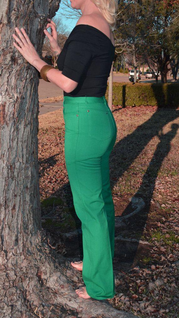 Www Bing Com1 Microsoft143 305 70: 70s/80s Gloria Vanderbilt By Murjani Green High Waisted