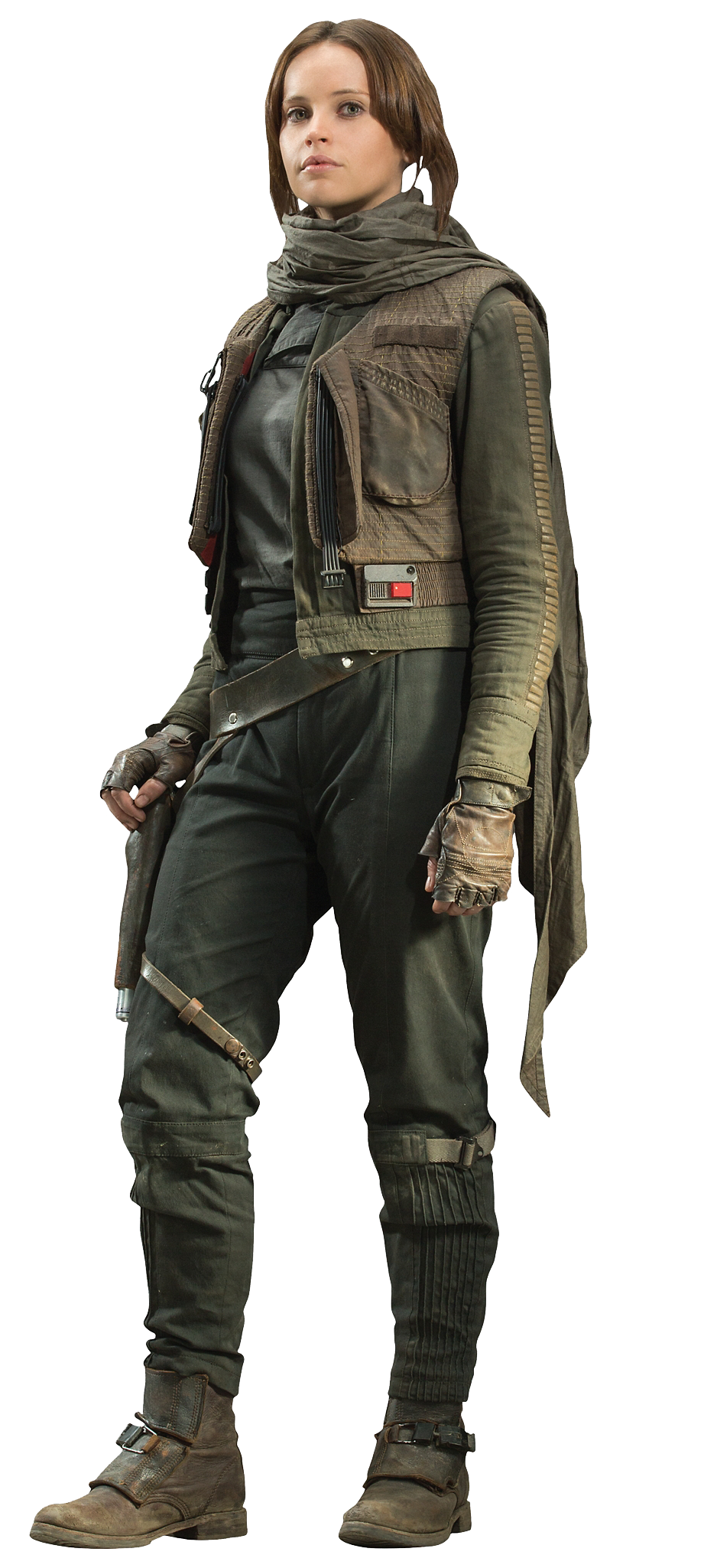 Jyn Erso is the protagonist of the Star Wars film 64546619e7035