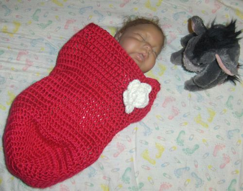 Baby Cocoon Free Pattern Very Easy And Quick To Make Great For