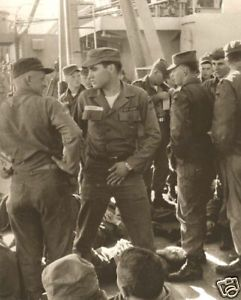Elvis Presley In The Army Never Seen Before 1958 On Ship To Germany ...