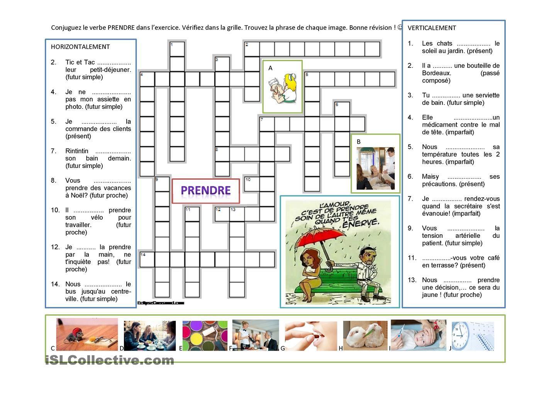 Verbe Prendre Conjugaisons Et Expressions