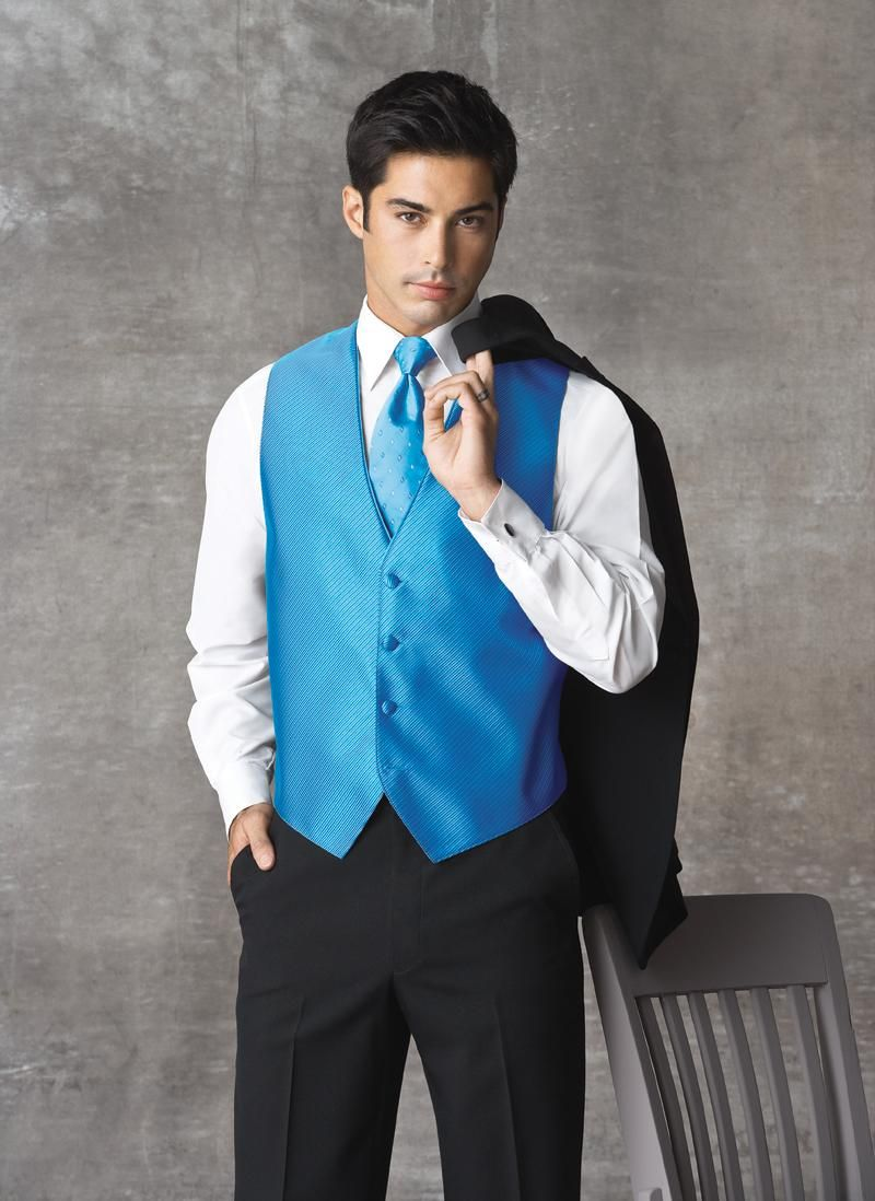 Ocean Blue (Synergy) Tuxedo Vest | Wedding ideas | Pinterest ...