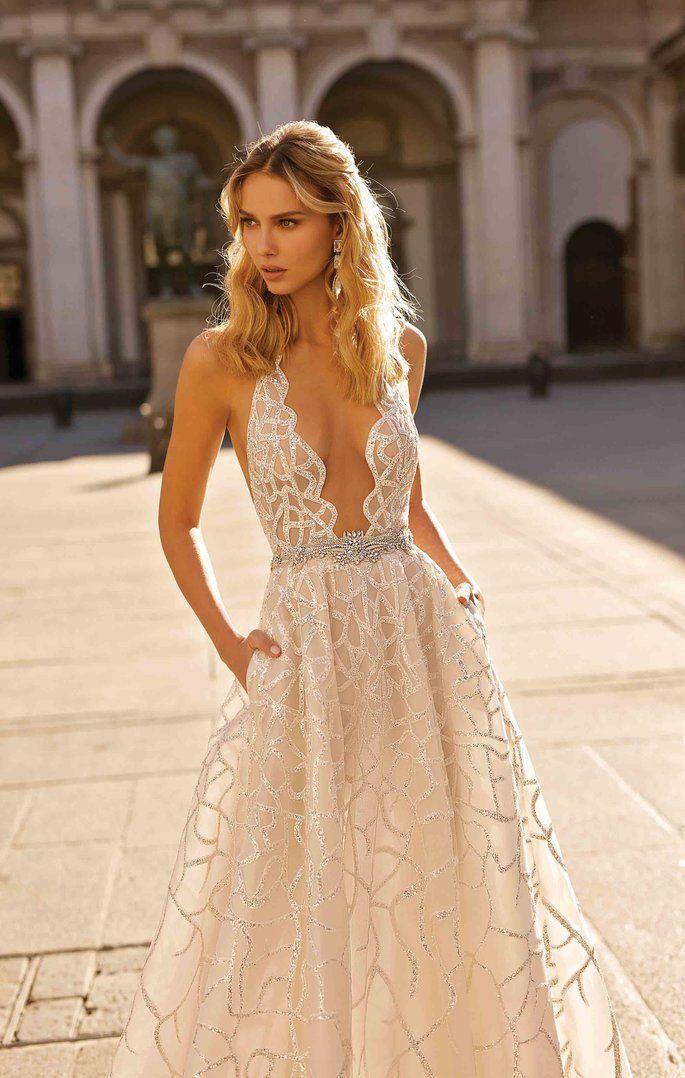 100 vestidos de novia corte princesa. ¡Los diseños más idílicos para tu boda!