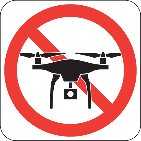 The Faa Has Apparently Published A No Drone Zone Sign Although It
