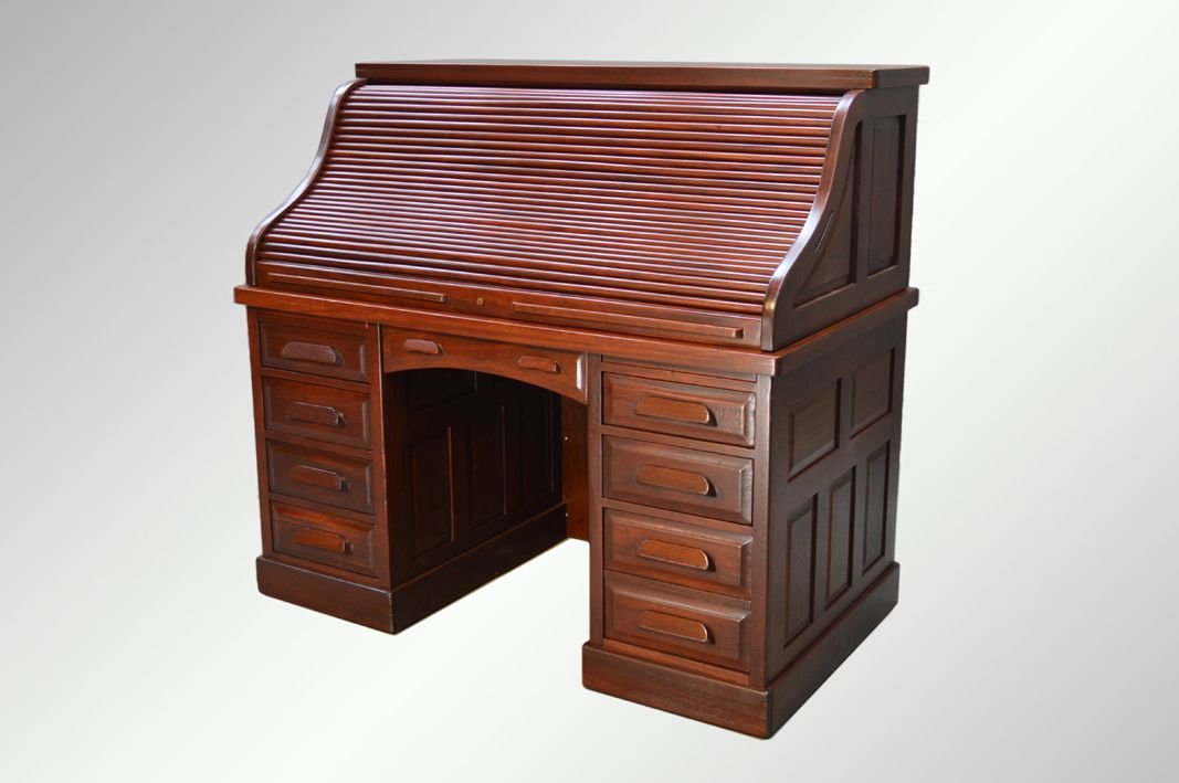 #16210 Antique Large Flame'Mahogany Executive Lawyer's Desk, worth seeing  and sharing! www.maineantiquefurniture.com | Antiques | Pinterest | Desks  and ... - 16210 Antique Large Flame'Mahogany Executive Lawyer's Desk, Worth