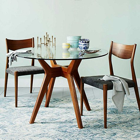 West Elm Jensen 4 Seater Round Dining Table Furniture