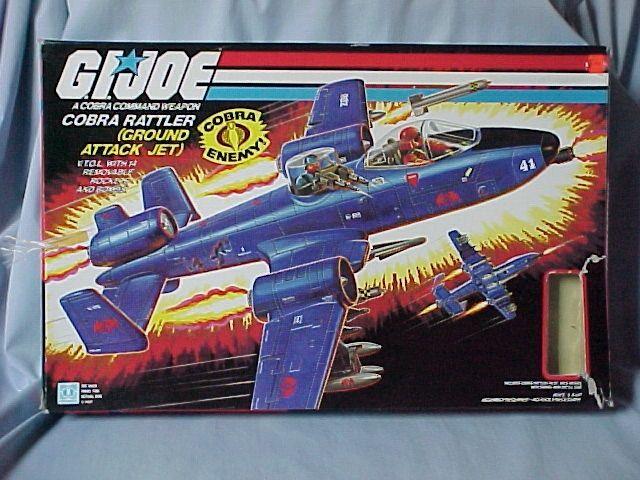 GI Joe Rattler jet d/'échappement du moteur Vintage partie 1984 accessoire Cobra G.I