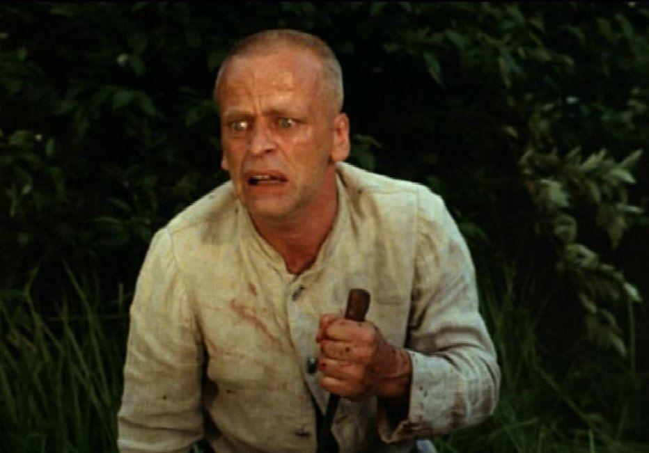 """Klaus Kinski in """"Woyzeck"""", directed by Werner Herzog, 1979"""