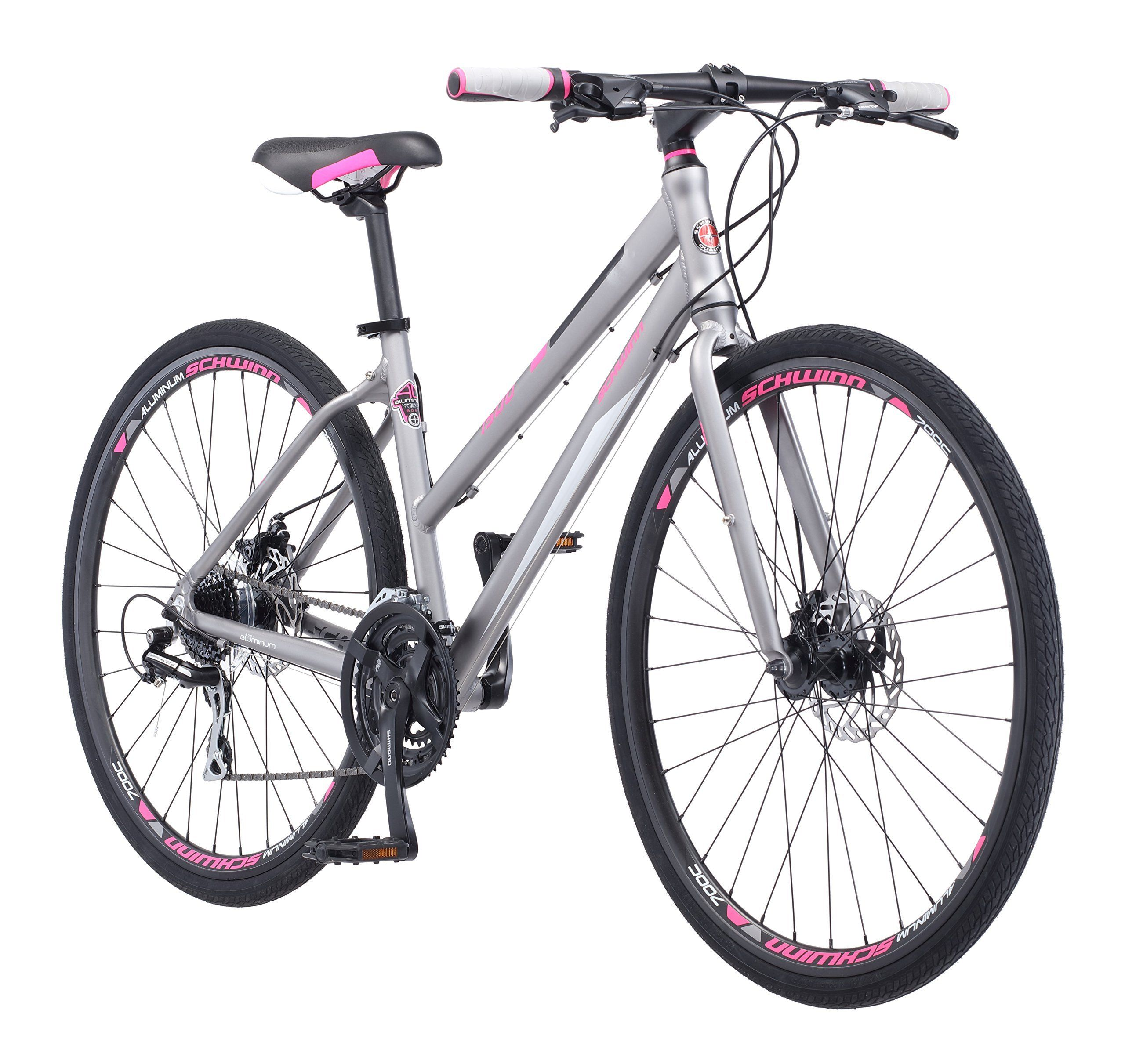 Schwinn Phocus 1500 Flat Bar Sport Fitness Hybrid Bikes 17 Inch Small Step Through Or 19 Inch Hybrid Bike Touring Bike Schwinn