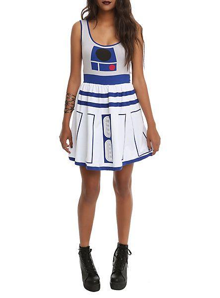 Star Wars Her Universe R2-D2 Dress Hot Topic geeky stuff - hot halloween ideas