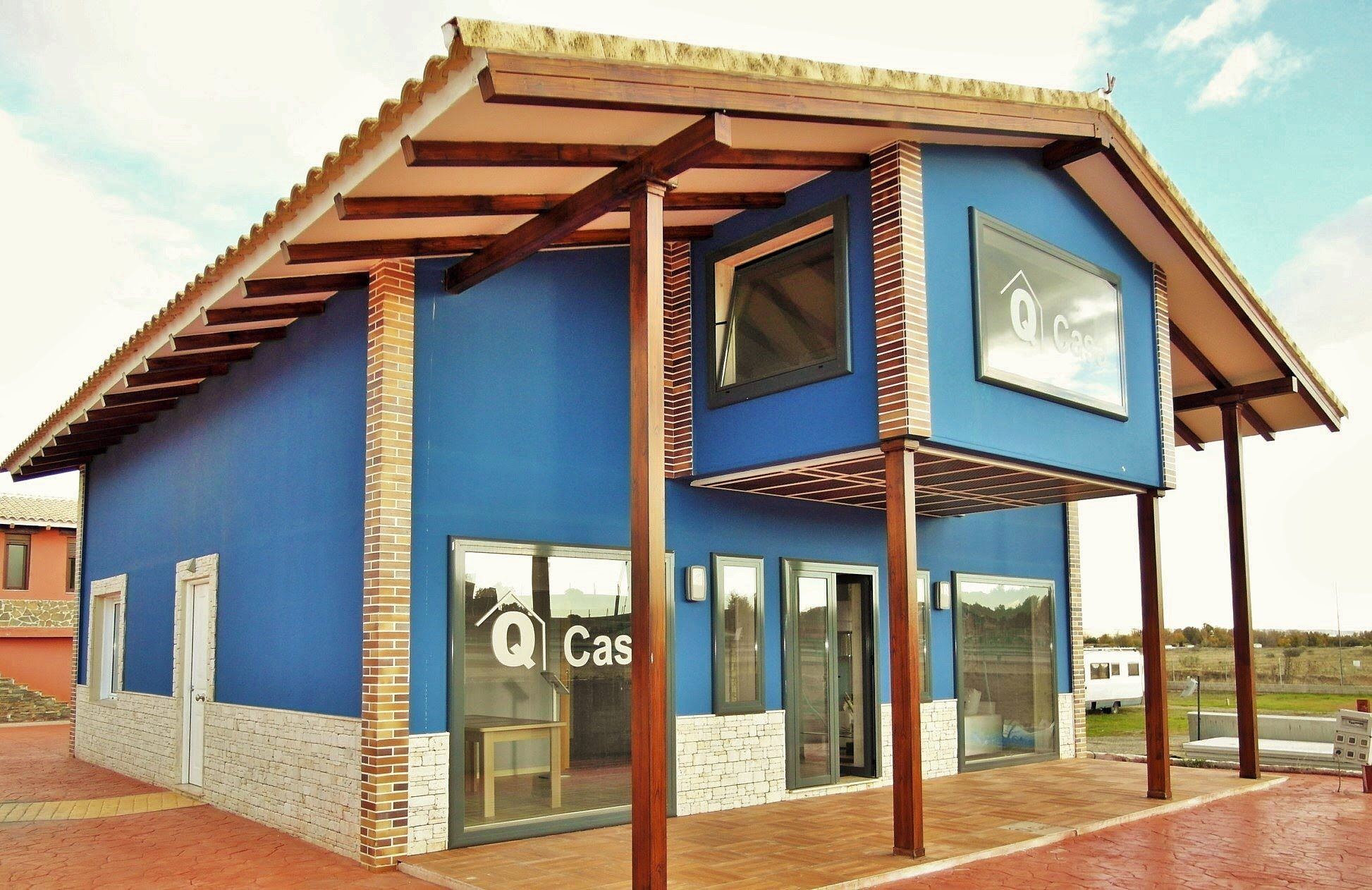 Video casa prefabricada de hoemigon modelo covadonga - Viviendas modulares prefabricadas ...