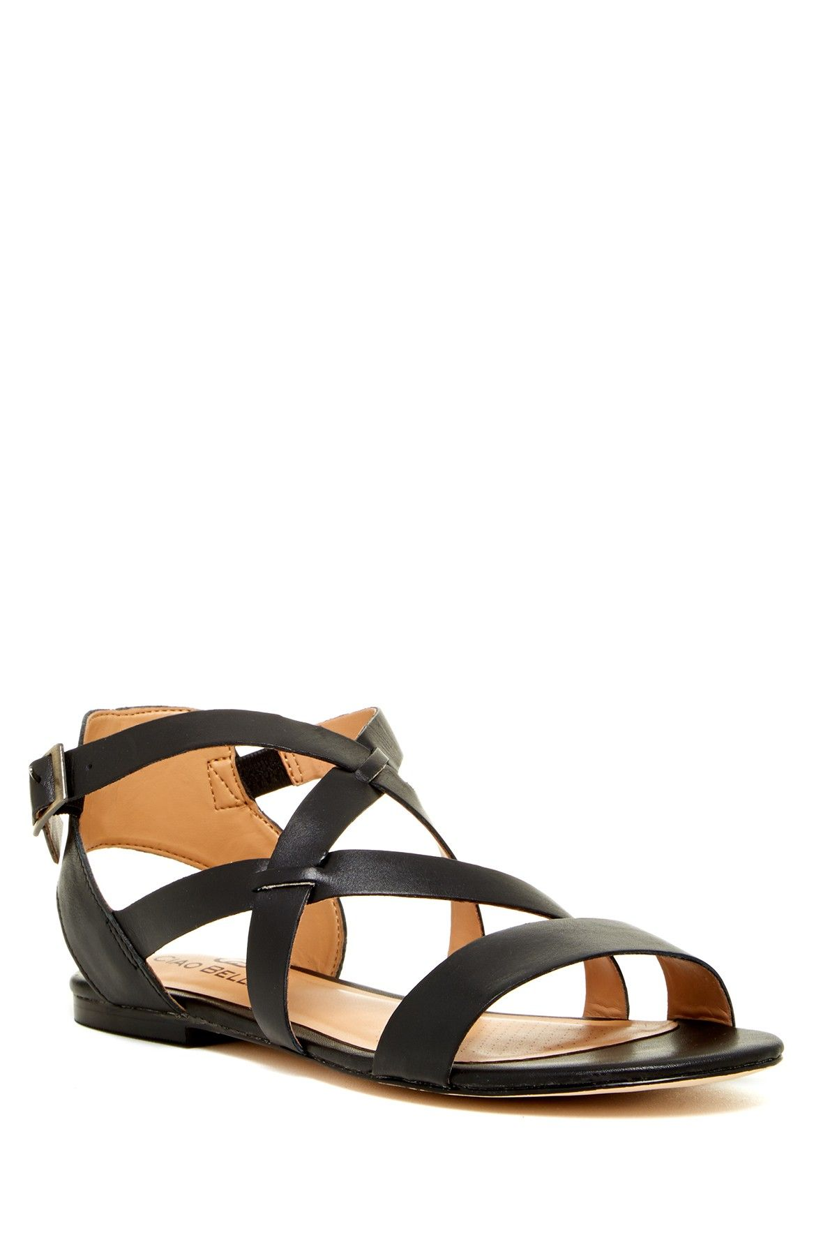 c5f5abc84 Samantha Leather Sandal by Ciao Bella on  nordstrom rack