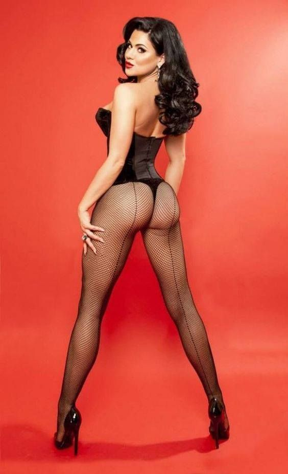 Opinion you Latina high heels and stockings was