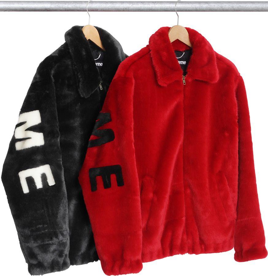 5d081bdd518d Faux Fur Coat Supreme