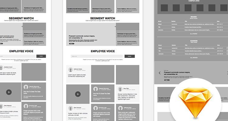 50 Free Wireframe Templates for Mobile, Web and UX Design
