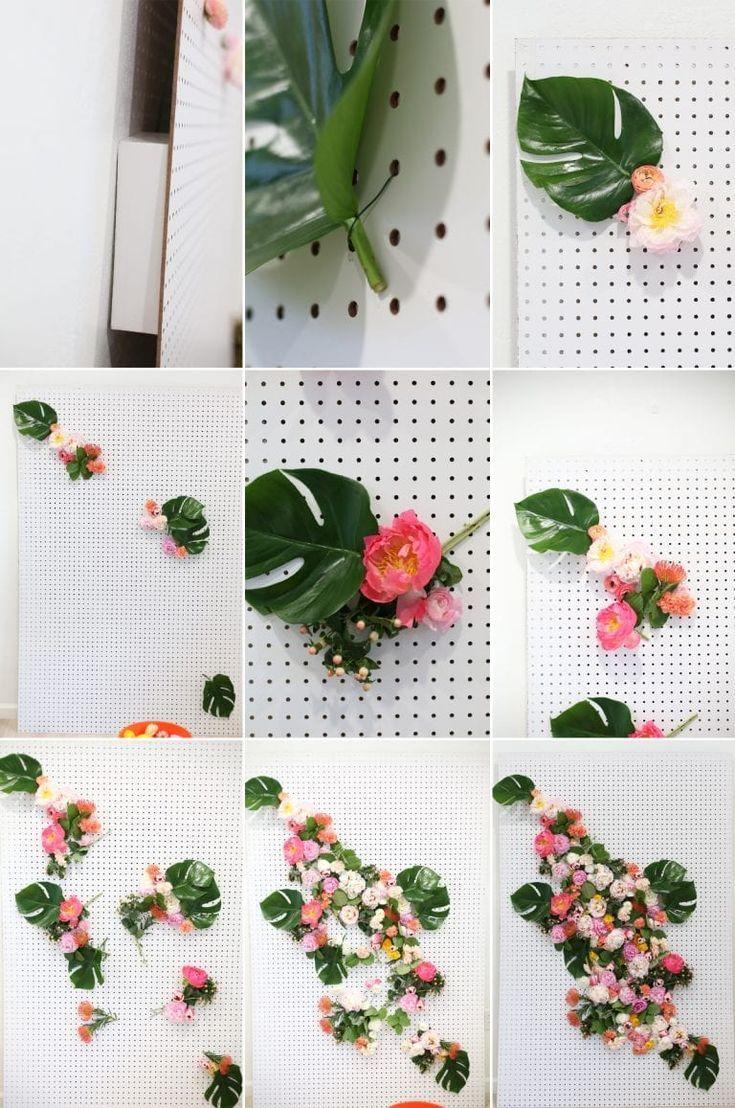 Diy floral photo backdrop diy photo backdrop flower
