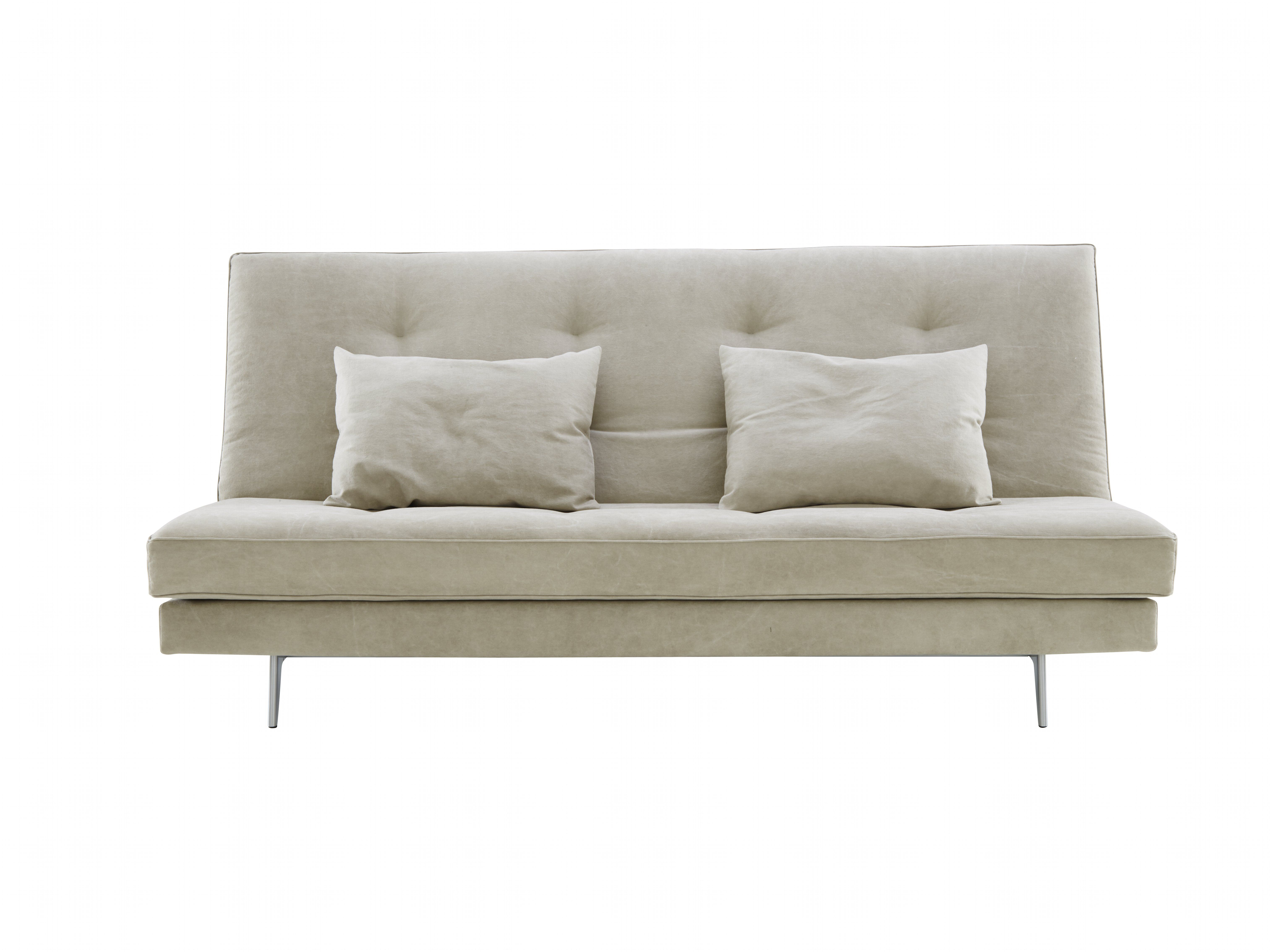A Daily Use Bed Settee Of Deliberately Understated Elegance Well Proportioned With Moulded Aluminium Feet And Traditional Mattress Style Oned Cushions