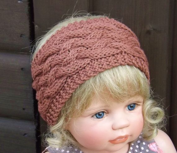 Knitting pattern knotty cable head warmer headband baby child knitting pattern knotty cable head warmer headband baby child adult sizes dt1010fo