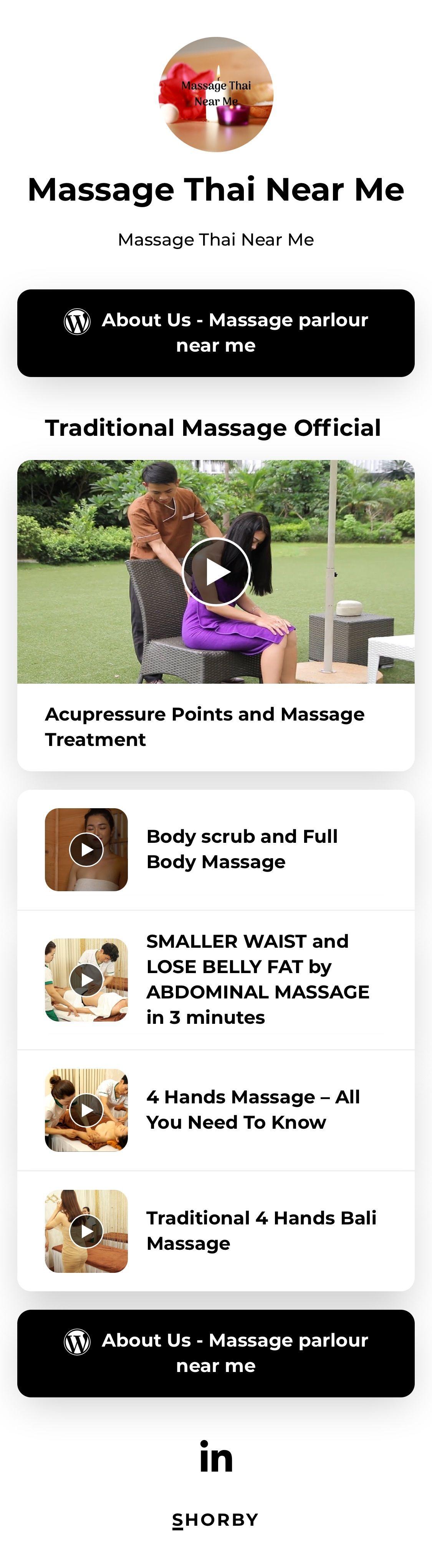 Massage thai near me massage treatment massage parlors