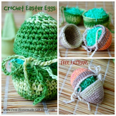 Homemade easter gift ideas tie up two piece crochet easter eggs homemade easter gift ideas tie up two piece crochet easter eggs and so negle Image collections