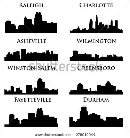 8 City In North Carolina Charlotte Raleigh Asheville Wilmington