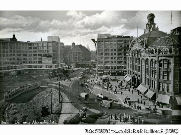 Der Neue Alexanderplatz Berlin Geschichte Bilder Berlin