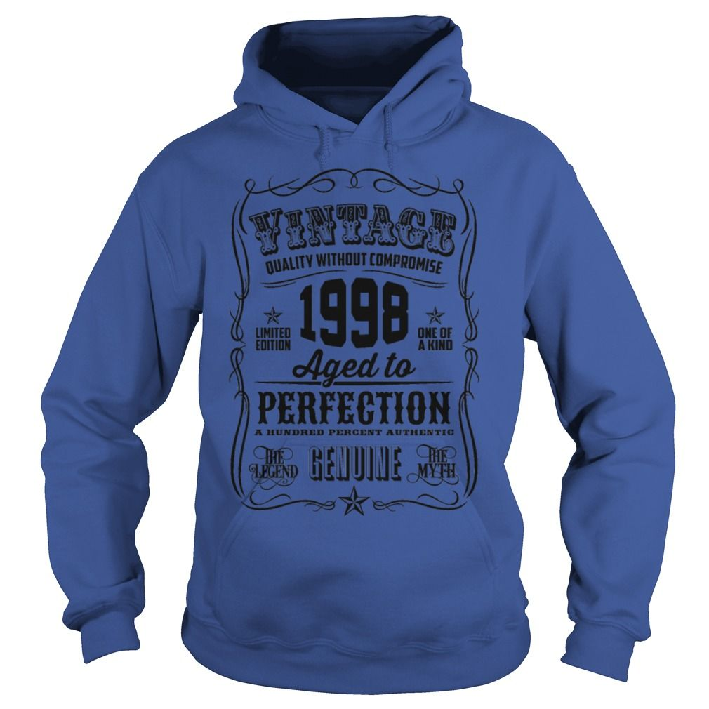 Vintage 1998 Aged To Perfection 18 Birthday Gift TShirt #gift #ideas #Popular #Everything #Videos #Shop #Animals #pets #Architecture #Art #Cars #motorcycles #Celebrities #DIY #crafts #Design #Education #Entertainment #Food #drink #Gardening #Geek #Hair #beauty #Health #fitness #History #Holidays #events #Home decor #Humor #Illustrations #posters #Kids #parenting #Men #Outdoors #Photography #Products #Quotes #Science #nature #Sports #Tattoos #Technology #Travel #Weddings #Women