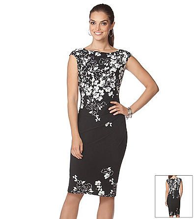 b1c92915f00 Chaps® Floral Sheath Dress