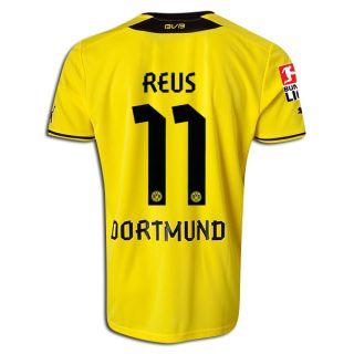 Men's 2013/14 Borussia Dortmund Marco Reus Soccer Jersey  Price: $55.00