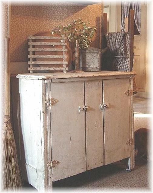 Beautiful Piece Of Furniture Dressed With Various Prim Accents Check It Out Primitive Dining RoomsPrimitive