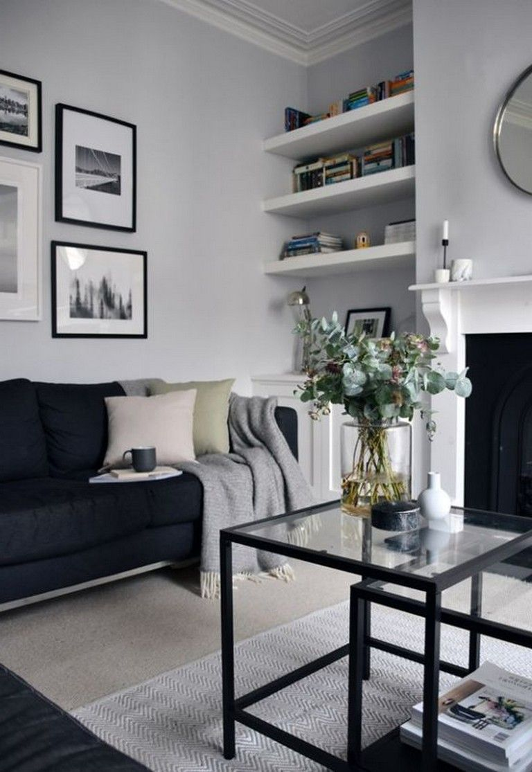 20 cool shelf decor living room to beautify the room home sweet rh pinterest com