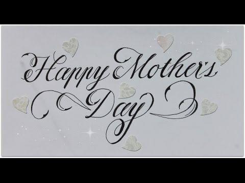 Cursive Fancy Letters How To Write Happy Mother S Day Easy Youtube Fancy Letters Fancy Writing Fancy Cursive