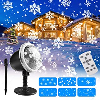 Amazon Com Christmas Laser Lights Outdoor Christmas Projector Landscape Lighting Christmas Lights