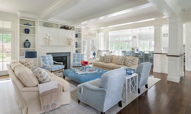Rhode island beach cottage living room beach house house room living room for Rhode island interior designers