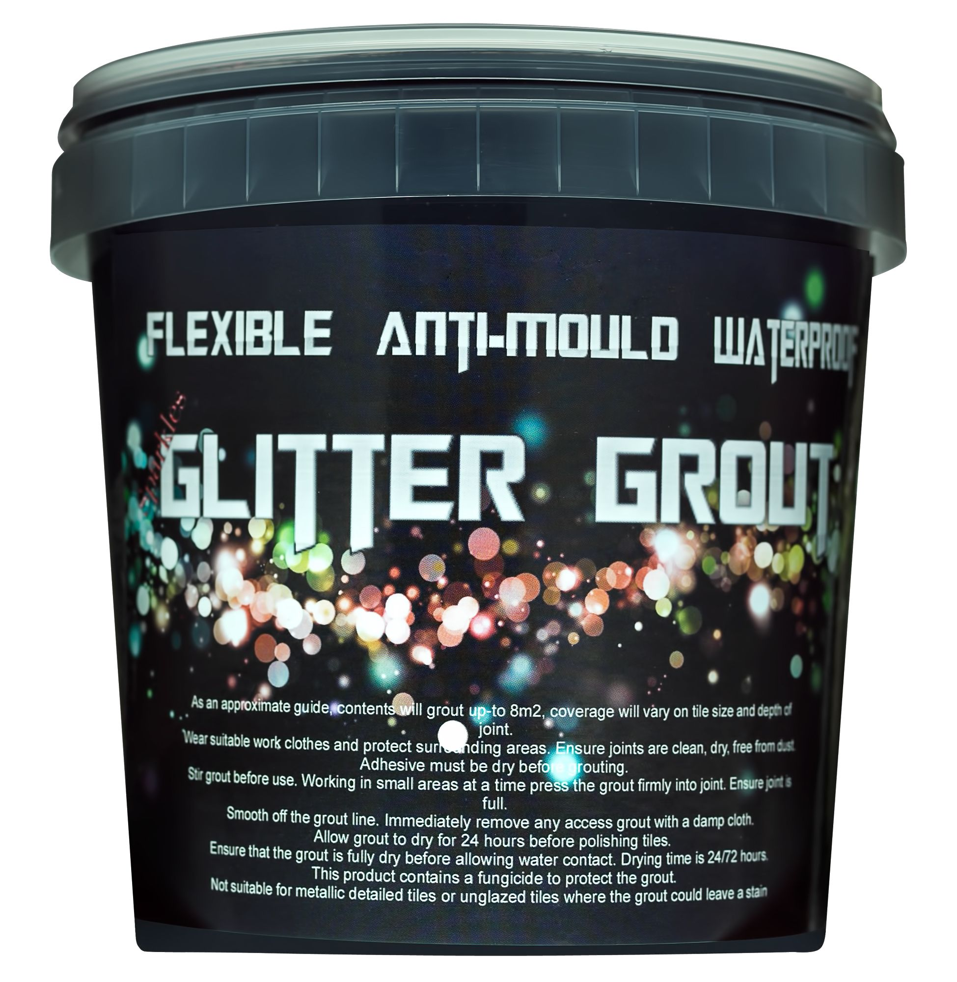 Black glitter grout   Stuff I Didn\'t Know Existed   Pinterest ...