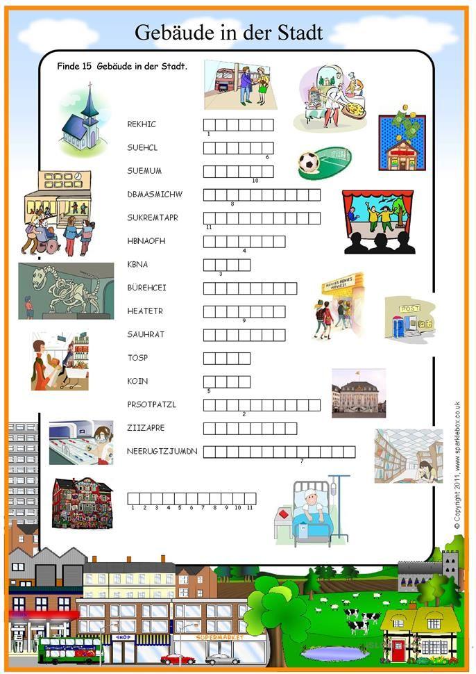 Gebäude in der Stadt (mit Bildern) Deutsch lernen