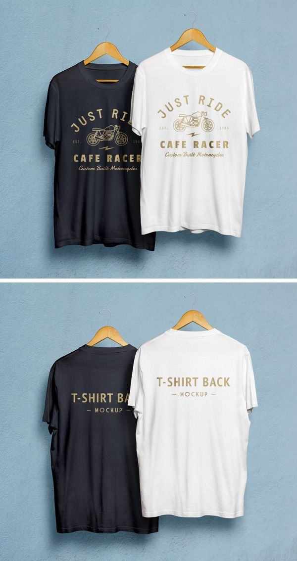 Our most downloaded resource just got a sequel! I'm happy to introduce the second photorealistic t-shirt mock-up...