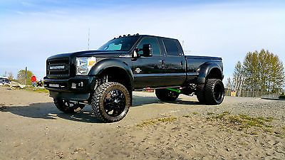 2014 F 450 Dually Platinum Lifted Sema Truck Used Ford F 450 For