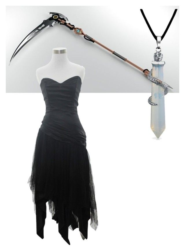 """""""Demon Hunter"""" by maximum-ride-fang ❤ liked on Polyvore featuring Bling Jewelry"""