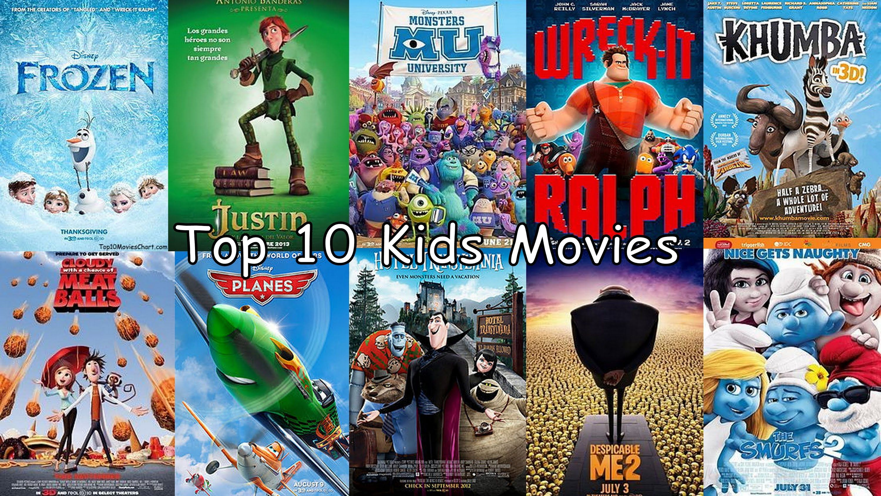 Your Kids will never run out of movies to watch. http