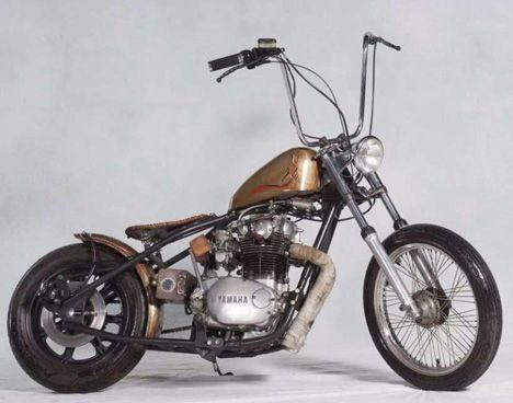 Image of 1978 Yamaha XS650 Custom Hardtail Bobber by Sjoerd. | Bikes ...